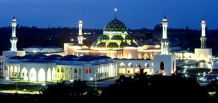 Masjid Agung Natuna Taj Mahal Nya Indonesia Sekretariat Daerah Pemkab Natuna
