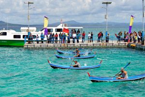Festival pulau senoa dalam rangka pekan expo pariwisata kabupaten natuna tahun 2017.