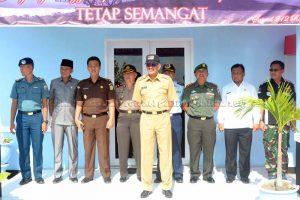 Peringatan HUT TNI ke – 72 dan HUT Satrad ke 35, Mako Satrad 212 Menggelar Lomba PBB untuk membina Disiplin, Kekompakan dan Patriotisme.