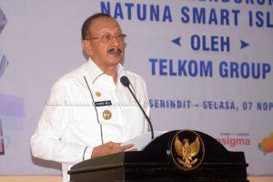 Sosialisasi Solusi Akses Internet dan Aplikasi E. Goverment dalam Mendukung Program Natuna Smart Island Oleh Telkom Group