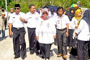 Pencanangan Kampung Keluarga Berencana Di Dusun Air Putih  Desa Tapau Kecamatan Bunguran Tengah