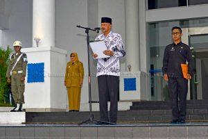 Upacara Puncak Peringatan Hari Guru Nasional tahun 2017 di Kabupaten Natuna