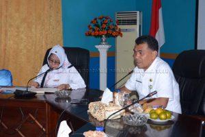 Rapat Evaluasi Pelaksanaan Kegiatan Kota Sehat Kabupaten Natuna