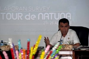 'Tour de Natuna diharapkan dapat Kembangkan Sektor Pariwisata Daerah'