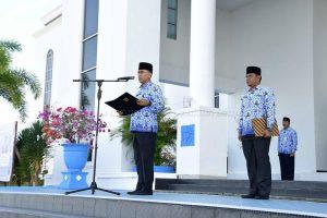 Apel 17 Hari Bulan Februari 2019 dilingkungan Pemerintah Kabupaten Natuna