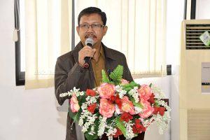 Rakernas Kesehatan, Kadis Kesehatan PPKB Kabupaten Natuna sampaikan Hambatan Pelayanan Kesehatan kepada Presiden RI