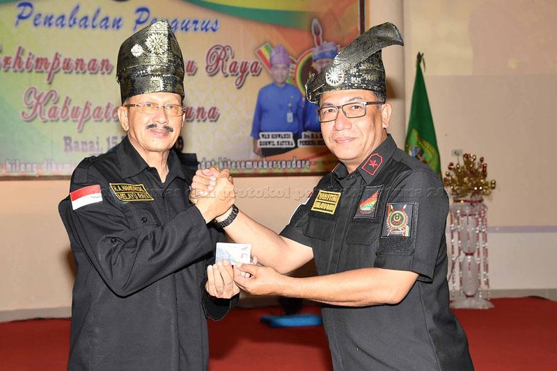 Penabalan Pengurus Himpunan Melayu Raya  Koordinator Wilayah Kabupaten Natuna
