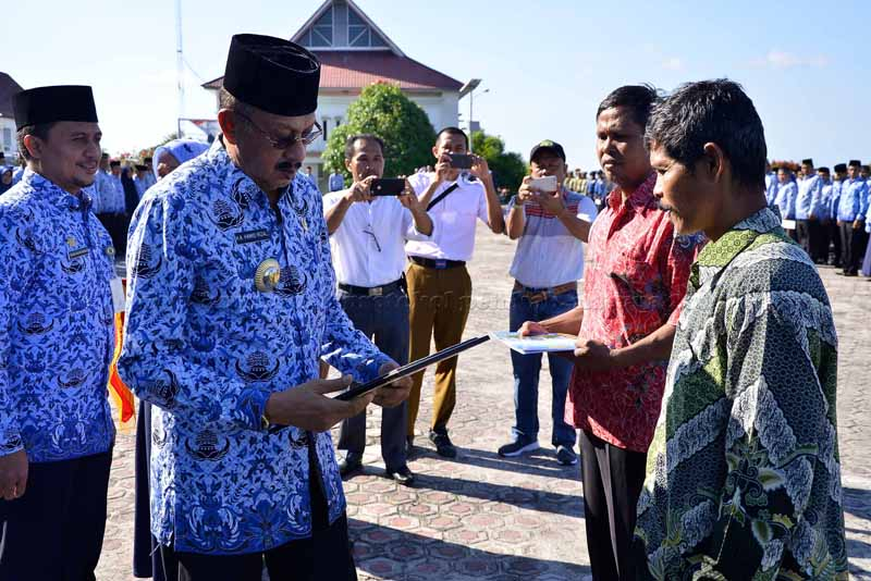 Bupati Natuna: Pemerintah Daerah tak mau Tanggung Aparatur yang Malas-malasan