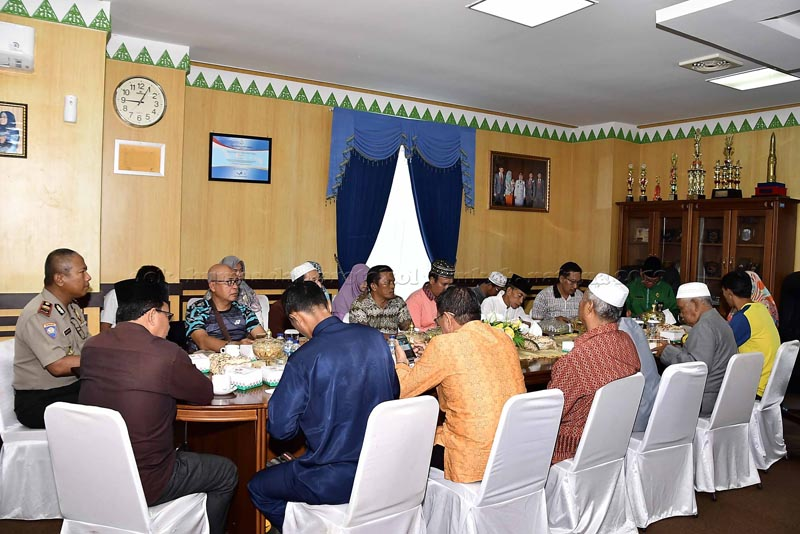 Ngesti Pimpin Rapat Koordinasi FKUB Kabupaten Natuna