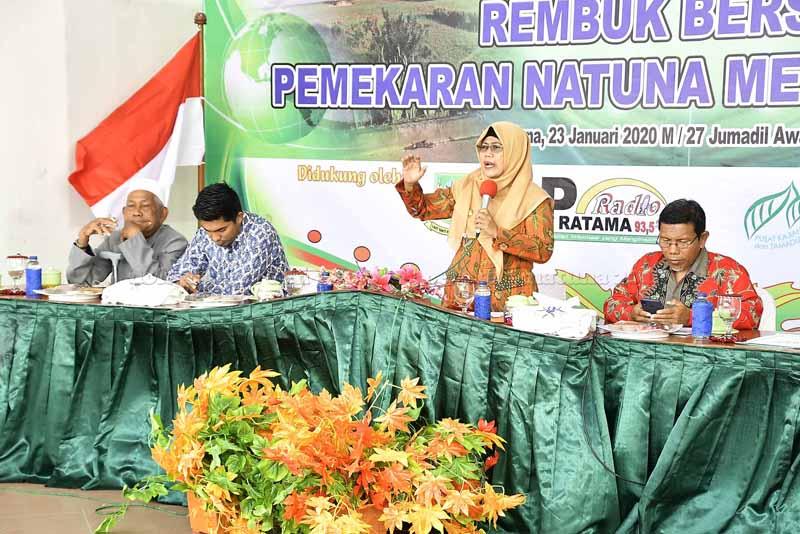 Wabup Natuna Buka Rembuk Bersama Pemekaran Natuna Menjadi Provinsi