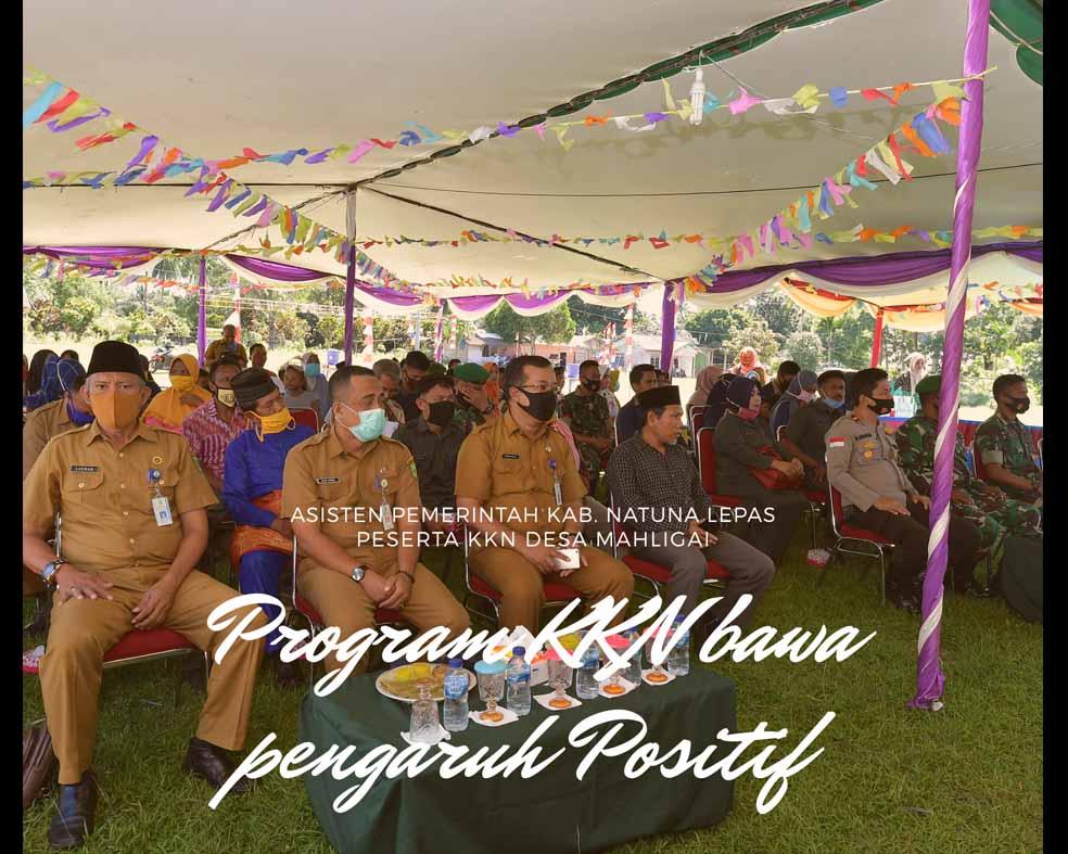 Asisten Pemerintahan Kab. Natuna : Program KKN bawa Pengaruh Positif dalam Tatanan Sosial Bermasyarakat
