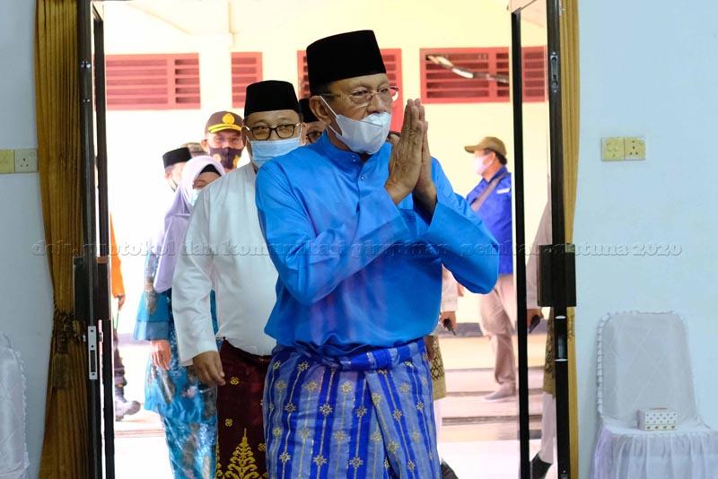 Peringati Hari Jadi Kabupaten Natuna ke-21, Tahun 2020, Bupati Natuna Hadiri Rapat Paripurna DPRD Natuna.
